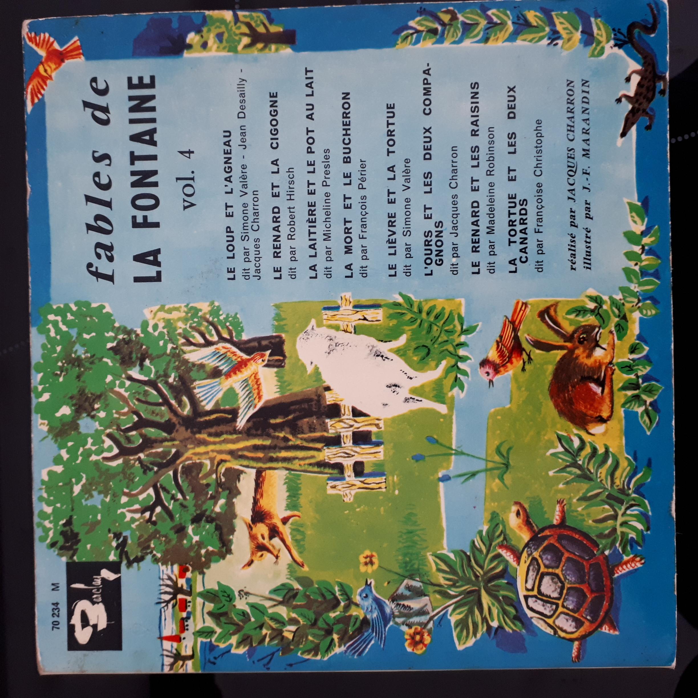Photos Fables-De-La-Fontaine-Vol-4