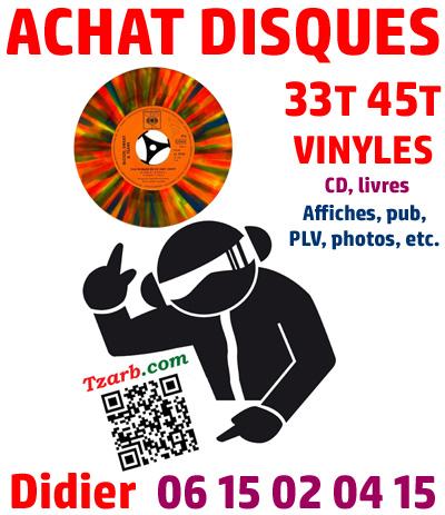 achat de disques en vinyle de rock, variete, jazz, soul, francais comme etranger et de toutes epoques